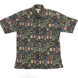 TORI RICHARD S Shirt Multicolor Cotton Made in USA